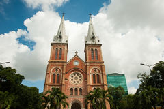 Notre-Dame Cathedral Basilica of Saigon Stock Photo