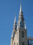 Notre Dame Cathedral church in Ottawa Canada Stock Photo