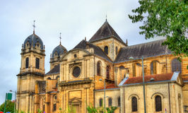 Notre-Dame Cathedral of Dax, France Royalty Free Stock Photos