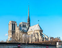 Notre-Dame Cathedral Royalty Free Stock Photography
