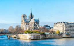 Notre-Dame Cathedral Stock Images