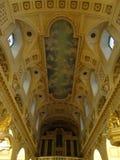Notre Dame Cathedral della Quebec: Dentro Fotografia Stock