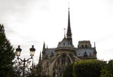Notre Dame Cathedral el fragmento foto de archivo