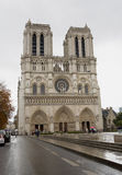 Notre Dame Cathedral Exterior Royalty Free Stock Photo
