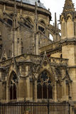 Notre Dame Cathedral the fragment Royalty Free Stock Image