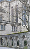 Notre Dame cathedral in Luxembourg Royalty Free Stock Photography
