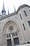 Notre Dame cathedral in Luxembourg Royalty Free Stock Images