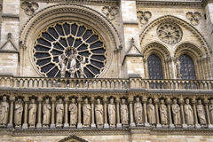 Notre Dame Cathedral het fragment Royalty-vrije Stock Afbeelding