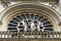 Notre Dame Cathedral het fragment Stock Foto