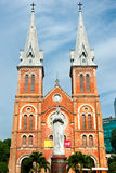 Notre Dame cathedral, Ho Chi Minh City. Royalty Free Stock Images