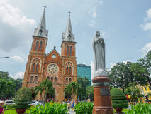 Notre Dame cathedral in Ho Chi Minh City Royalty Free Stock Photo