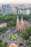 Notre Dame Cathedral. In Ho Chi Minh city. Ho Chi Minh City has the most dynamic economy in Vietnam Stock Images