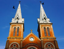 Notre Dame cathedral, ho chi minh city, travel Royalty Free Stock Photography
