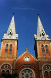 Notre Dame cathedral, ho chi minh city, travel Royalty Free Stock Photos