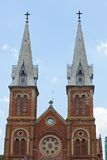 Notre Dame Cathedral Ho Chi Minh City, Vietnam Royalty Free Stock Image