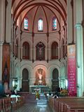 Notre Dame cathedral, Ho Chi Minh City, Vietnam. This is the interior of Notre Dame Cathedral in Ho Chi Minh City, Vietnam Stock Photography