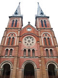 Notre Dame Cathedral in Ho Chi Minh City Vietnam Royalty Free Stock Image