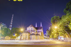 Notre Dame cathedral, Ho Chi Minh City, Vietnam Stock Images