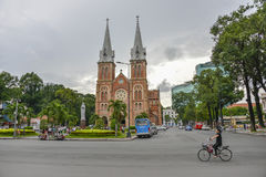 Notre Dame cathedral, Ho Chi Minh City, Vietnam. Stock Photography
