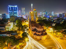 Notre Dame cathedral in Ho Chi Minh City Royalty Free Stock Photography