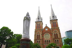 Notre Dame Cathedral, Ho Chi Minh City, Vietnam. Stock Photo