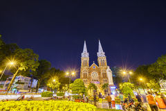 Notre Dame cathedral, Ho Chi Minh City, Vietnam Royalty Free Stock Images