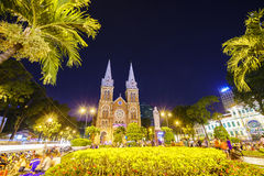 Notre Dame cathedral, Ho Chi Minh City, Vietnam Royalty Free Stock Photos
