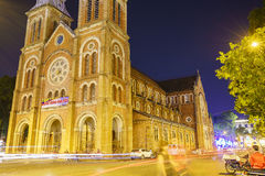 Notre Dame cathedral, Ho Chi Minh City, Vietnam Royalty Free Stock Photography