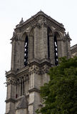 Notre Dame Cathedral il frammento Fotografie Stock