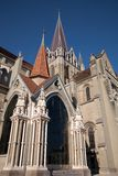 Notre Dame Cathedral; Lausanne Royalty Free Stock Images