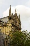 Notre Dame Cathedral le fragment Photo libre de droits