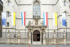 Notre-Dame Cathedral in Luxembourg. Royalty Free Stock Image
