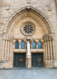 Notre-Dame Cathedral, Luxembourg i Royalty Free Stock Photo