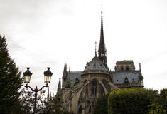 Notre Dame Cathedral o fragmento Foto de Stock