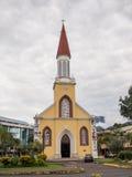 Notre Dame Cathedral, Papeete, Tahiti, Französisch-Polynesien Stockfotografie