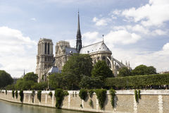 Notre Dame Cathedral,Paris Stock Image
