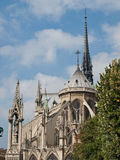 Notre Dame Cathedral, Paris, Stock Image