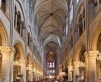 Notre Dame Cathedral Paris Royalty Free Stock Photo