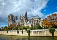 Notre Dame Cathedral - Paris Royalty Free Stock Photo