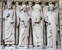 Notre Dame Cathedral - Paris Stock Photography