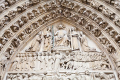 Notre Dame Cathedral - Paris Royalty Free Stock Photos