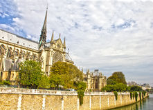 The Notre Dame Cathedral, Paris Stock Photos