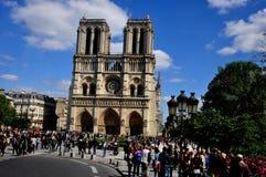 Notre Dame Cathedral Paris Immagine Stock Libera da Diritti