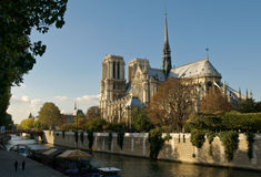 Notre Dame Cathedral Paris Stock Photo