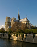 Notre Dame Cathedral Paris Stock Photography