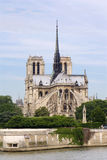 Notre-Dame cathedral in Paris Stock Images