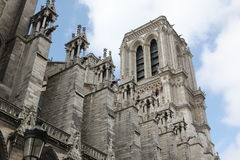 Notre Dame Cathedral - Paris Royalty Free Stock Images