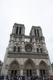 Notre Dame Cathedral, Paris Stock Photos