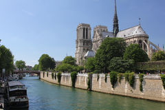 Notre Dame cathedral, Paris Stock Photography