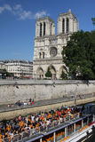 Notre Dame cathedral, Paris Royalty Free Stock Images